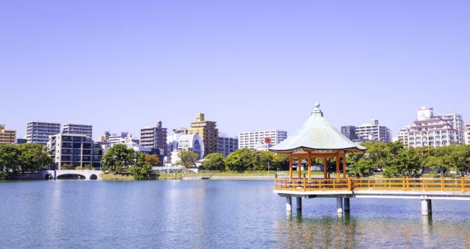 大濠公園(福岡市中央区)の住みやすさ、新築・中古マンションの相場は?